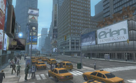 Times Square – Real Time Render